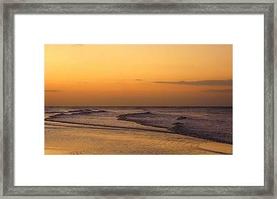 Sunrise On Sanibel Island Framed Print by Anne Gordon