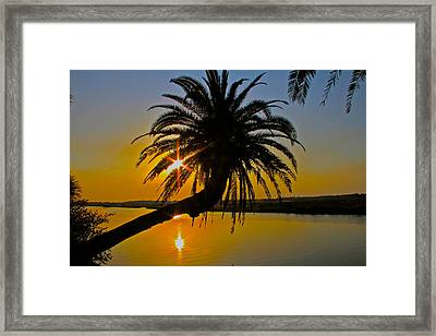 Framed Print featuring the photograph Sunrise On The Loop by Alice Gipson