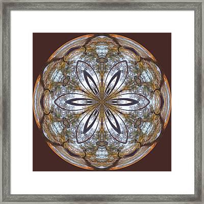 Sunrise Orb Framed Print