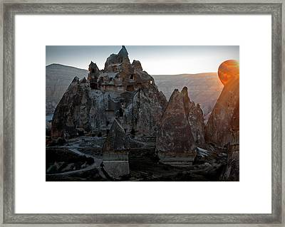 Sunrise Over Cappadocia Framed Print by RicardMN Photography