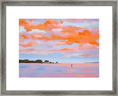 Sunrise Over Little England Framed Print
