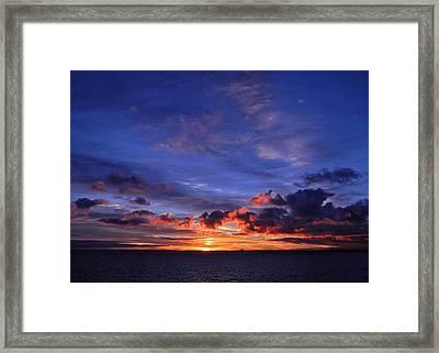 Sunrise Over Western Australia I I I Framed Print