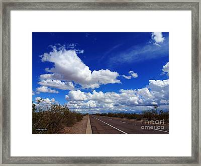 Sunrise Parkway Framed Print by Methune Hively