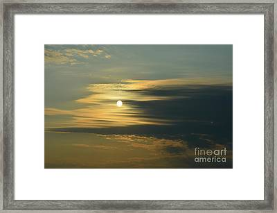 Sunrise Framed Print by Paulina Roybal