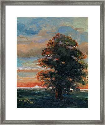Sunrise Framed Print by Rick Nederlof