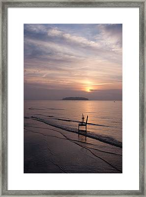 Sunrise Framed Print by Ron Smith
