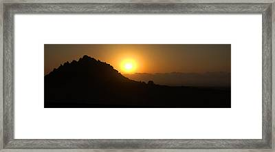 Sunrise Framed Print by Ruslan Gataulin