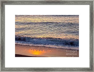 Sunrise Shadow Framed Print