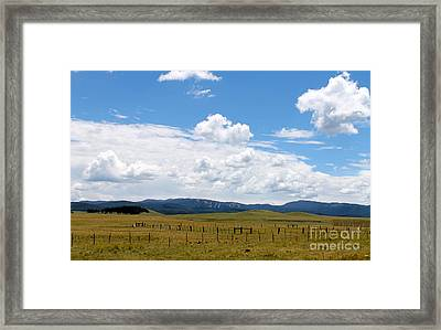 Sunrise Ski Resort Framed Print