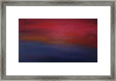 Sunrise Sunset Framed Print by Alanna Hug-McAnnally
