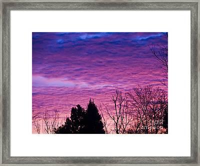 Sunrise Surprise 2 Framed Print by Scotts Scapes