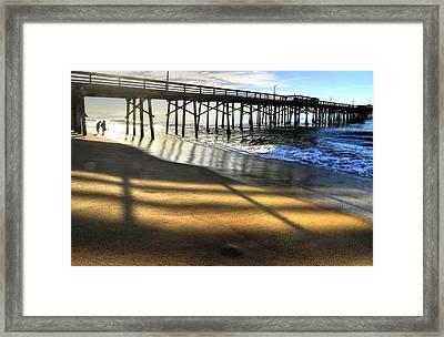 Sunrise Trestle Framed Print