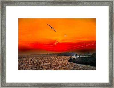 Sunrise Willhelm Stadt Framed Print