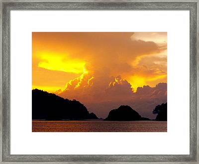 Sunscape Curu National Wildlife Park Costa Rica Framed Print