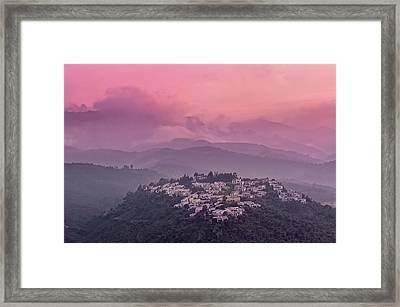 Sunset Framed Print by © Yannick Lefevre - Photography