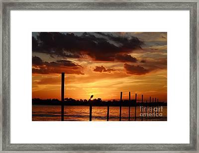 Sunset 1-1-12 Framed Print