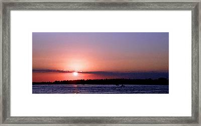 Sunset Art Framed Print