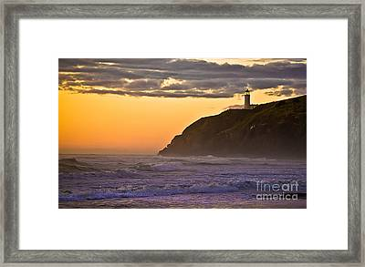 Sunset At North Head II Framed Print