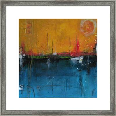 Sunset At The Lake  # 1 Framed Print