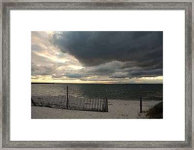 Sunset Bay 52 Framed Print by Joyce StJames
