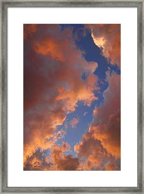 Sunset Cloudscape 1035 Framed Print by James BO  Insogna