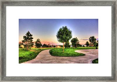 Sunset Colors Framed Print by Sergio Aguayo