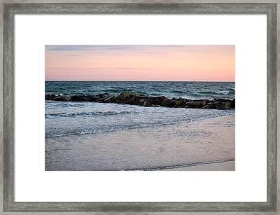 Sunset Colors The Atlantic Sky Framed Print