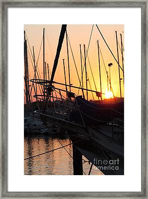 Sunset Escape Framed Print