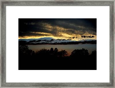 Sunset Framed Print by Frank DiGiovanni