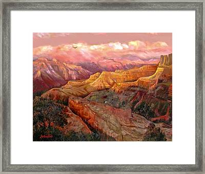 Sunset Grand Canyon Framed Print