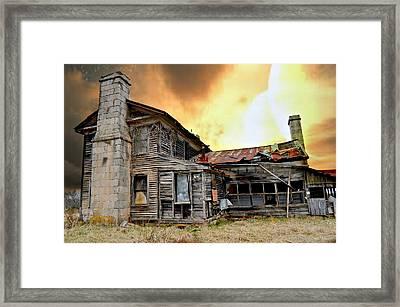 Sunset Homestead Framed Print by Marty Koch