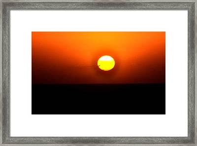 Sunset Iv Framed Print by Danielle Del Prado