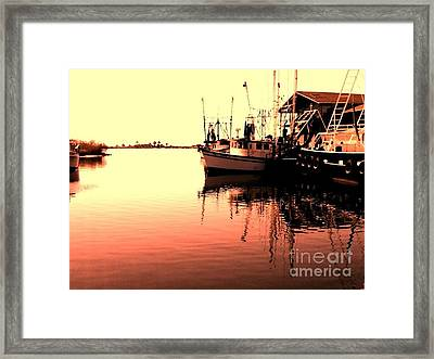 Framed Print featuring the photograph Sunset by Janice Spivey