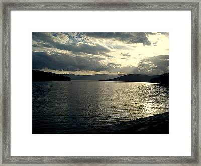 Sunset  Framed Print by Kristina Mladenova