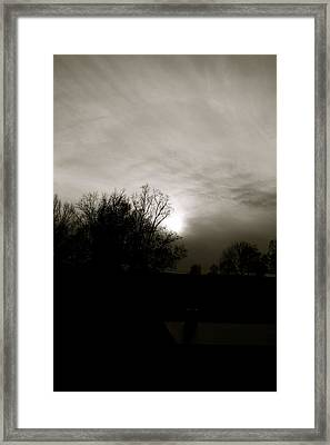 Framed Print featuring the photograph Sunset by Kume Bryant