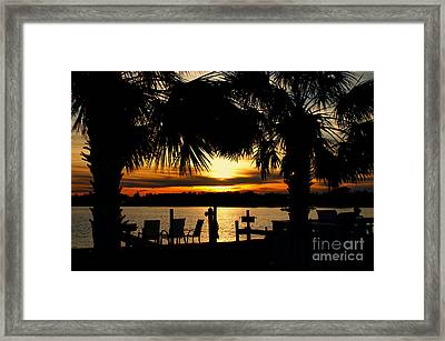 Sunset Memories Framed Print by Benanne Stiens