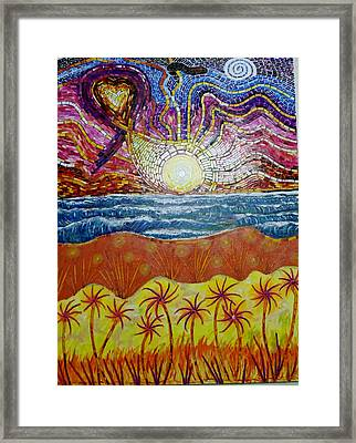 Sunset Framed Print by Mike Stair