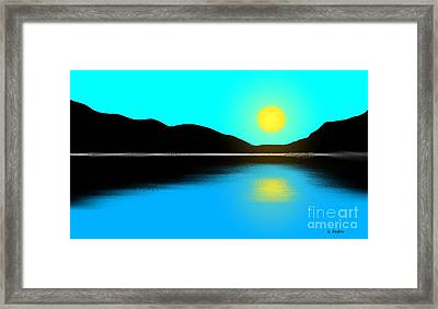 Sunset No. 2 Framed Print by George Pedro
