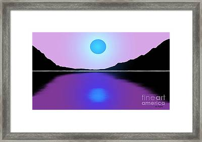 Sunset No. 4 Framed Print by George Pedro