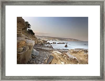 Sunset On The Mediterranean Framed Print by Joana Kruse