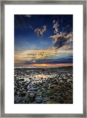 Sunset Over Bound Brook Island Framed Print