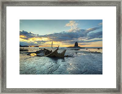 Sunset Over The Admiral Framed Print by Martin Williams