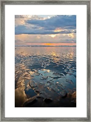 Sunset Reflection Framed Print by Anthony Doudt
