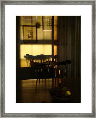 Sunset Shadows Framed Print by Mark Haley