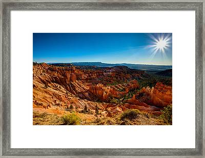 Sunset Sunrise Framed Print