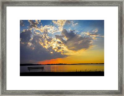 Sunset Framed Print by Travis MacDonald