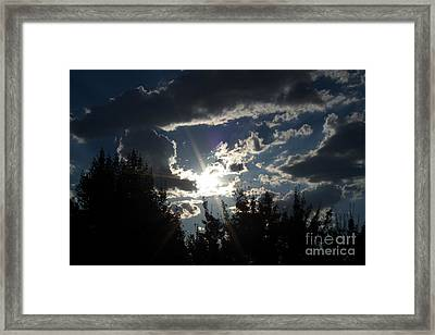 Sunshine Always Returns Framed Print