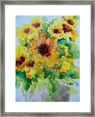 Sunshine Bright Framed Print by Sandy Collier