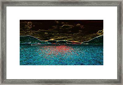 Sunshine Coastin' Framed Print by Travis Crockart
