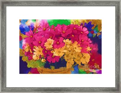 Sunshine In A Basket Framed Print by Marion Headrick